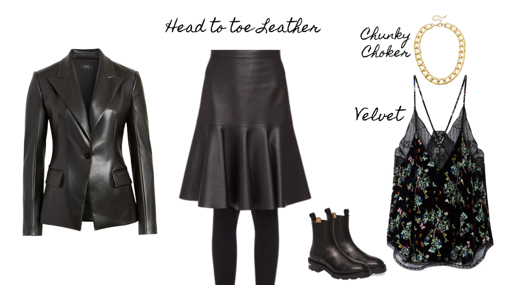 Fall Style 2020 Head to toe leather